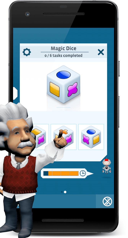 Screenshot 2: 愛因斯坦腦力強化訓練