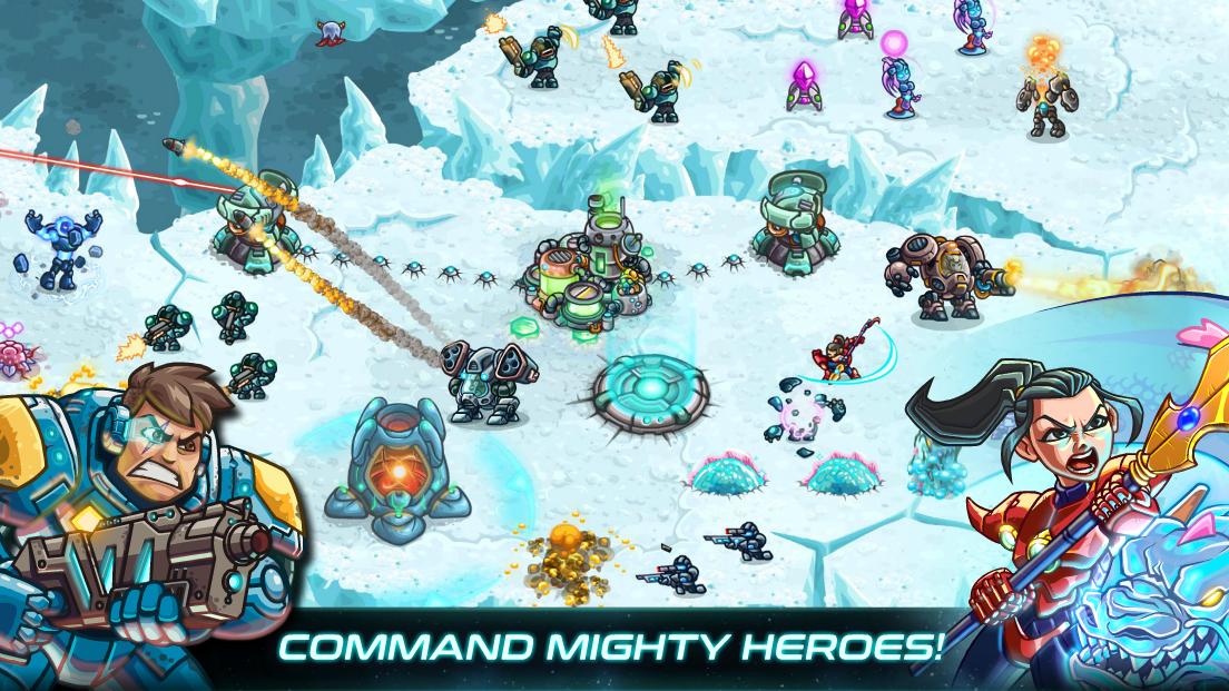 Screenshot 3: 鋼鐵戰隊 (Iron Marines)