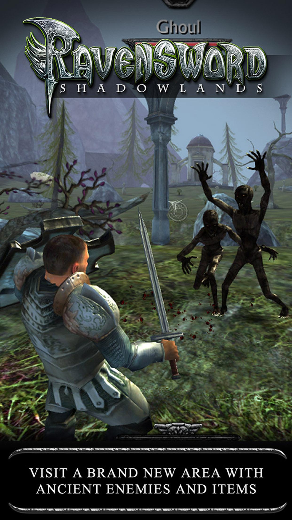 Screenshot 1: Ravensword: Shadowlands
