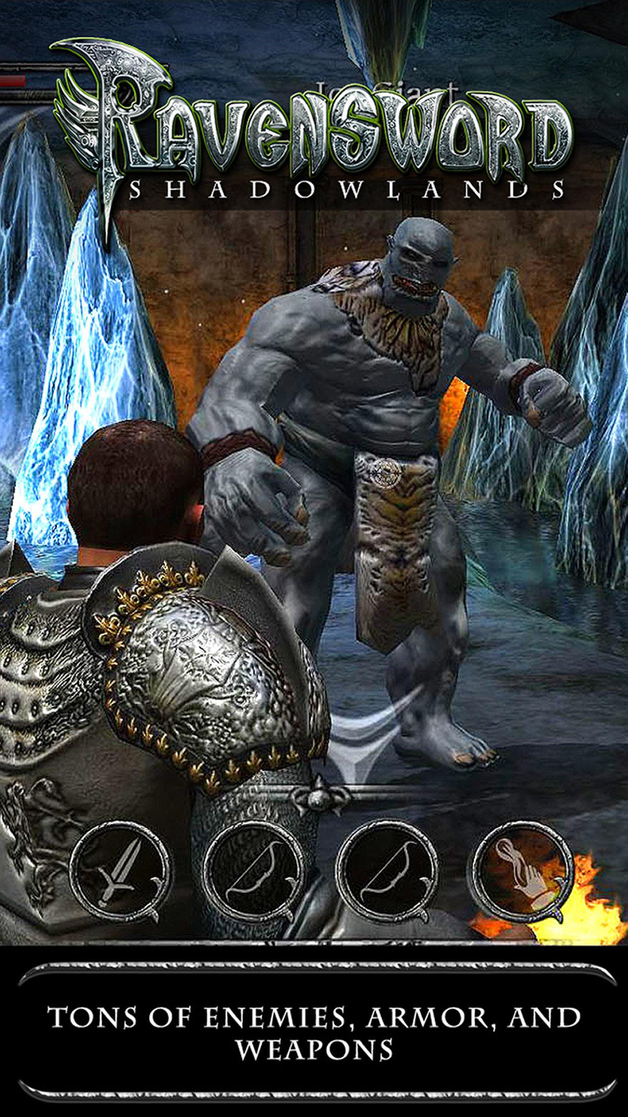 Screenshot 2: Ravensword: Shadowlands