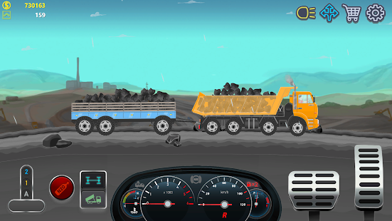 Screenshot 3: Trucker Real Wheels