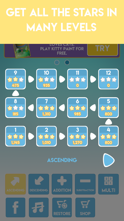 Screenshot 3: Speedy Math - Increase your IQ with fun puzzle