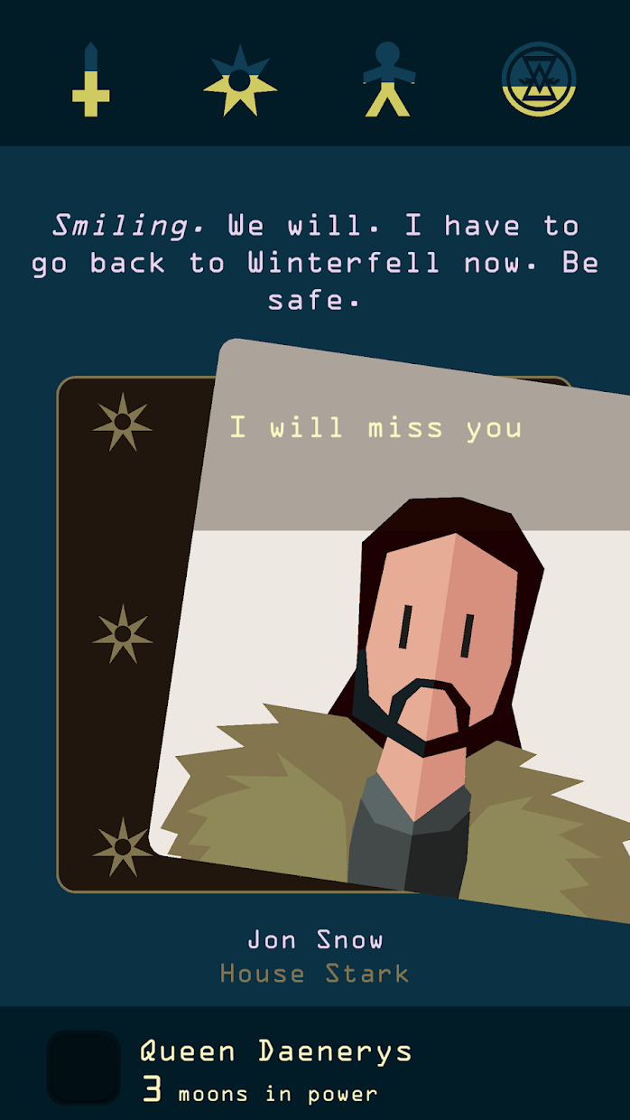Screenshot 2: Reigns: Game of Thrones
