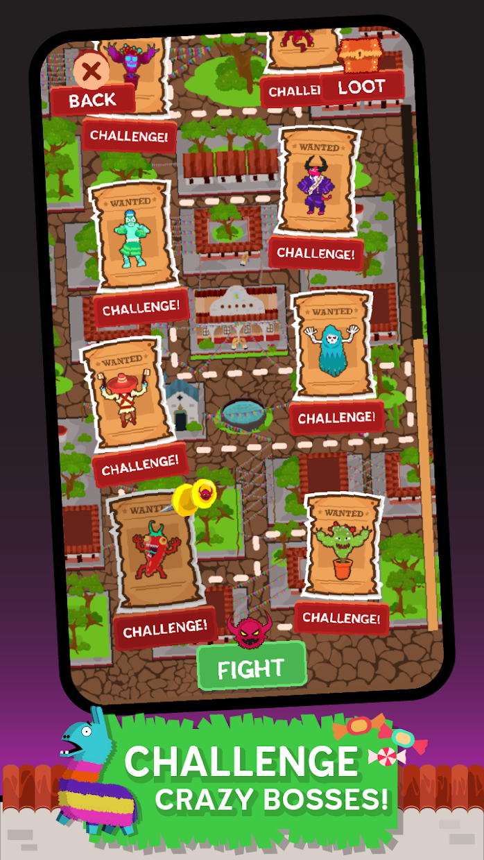 Screenshot 4: Pinata Punishers: Idle Clicker