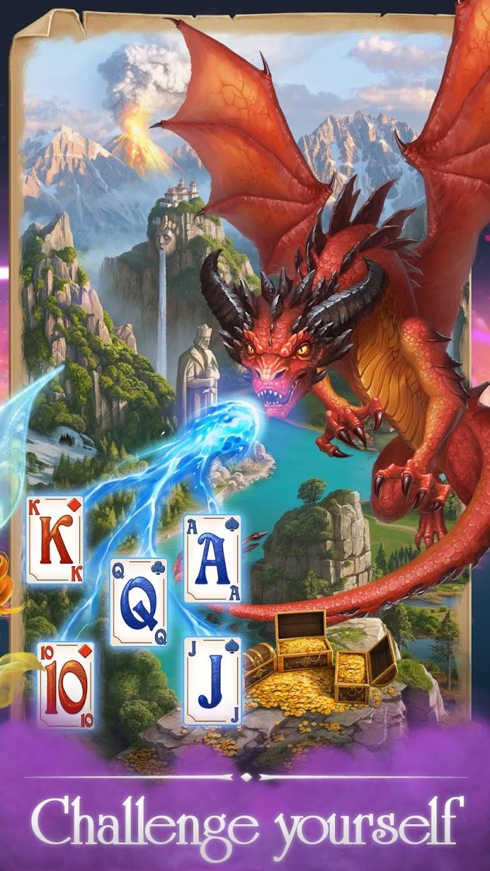 Screenshot 4: Solitaire Magic Story Offline Cards Adventure