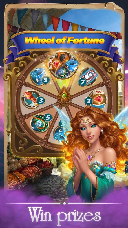 Screenshot 3: Solitaire Magic Story Offline Cards Adventure