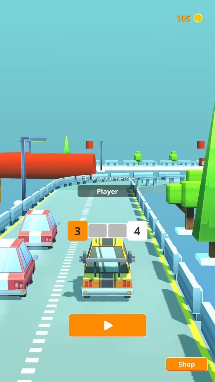 Screenshot 1: Wild races: league of cars