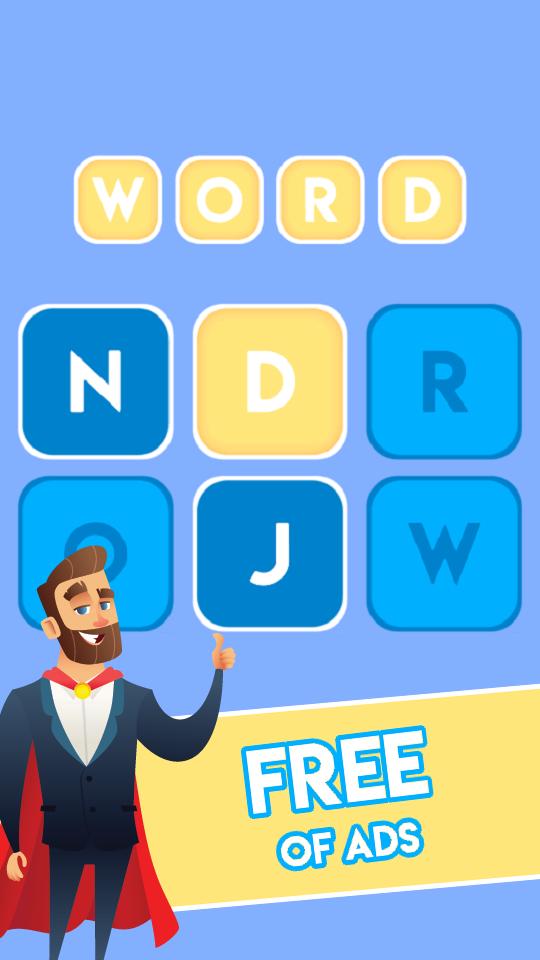 Screenshot 1: Speedy Word - Increase your IQ with fun puzzle