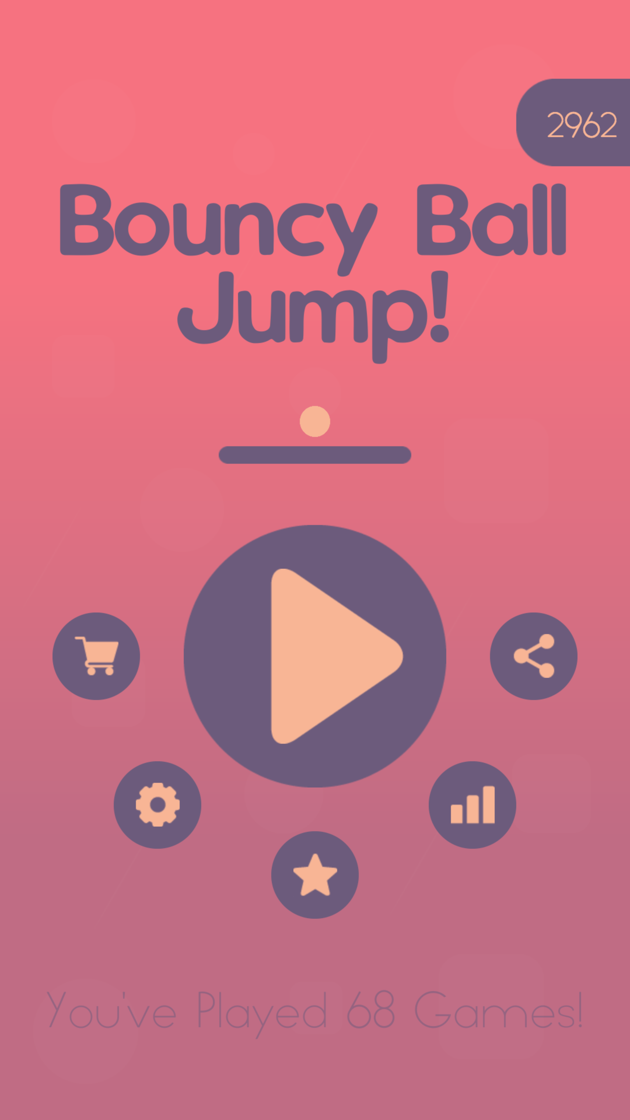 Screenshot 4: Bouncy Ball Jump! -Doodle jump