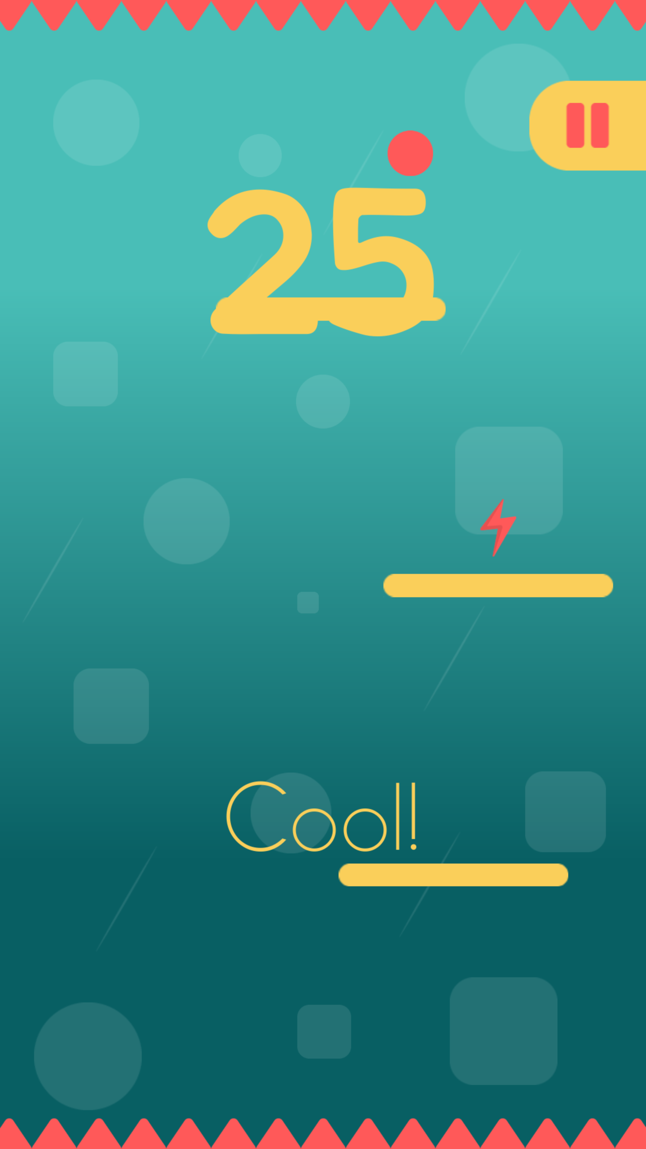 Screenshot 3: Bouncy Ball Jump! -Doodle jump