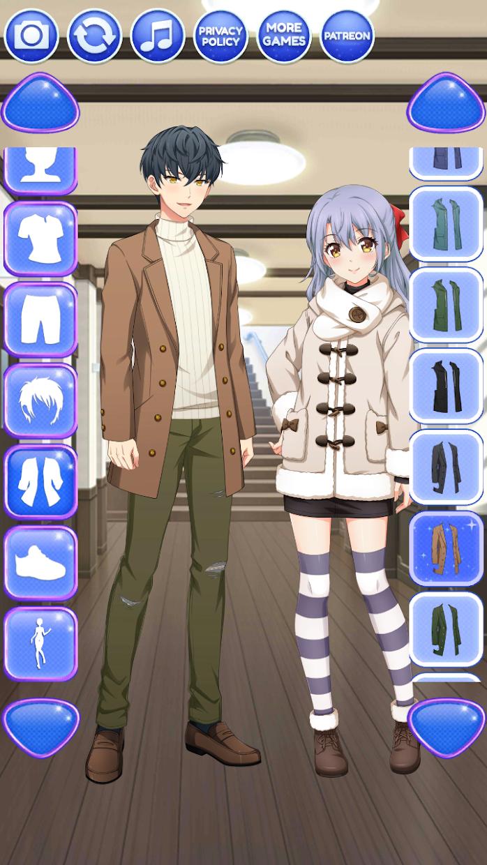 Screenshot 3: Anime Boy Makeover