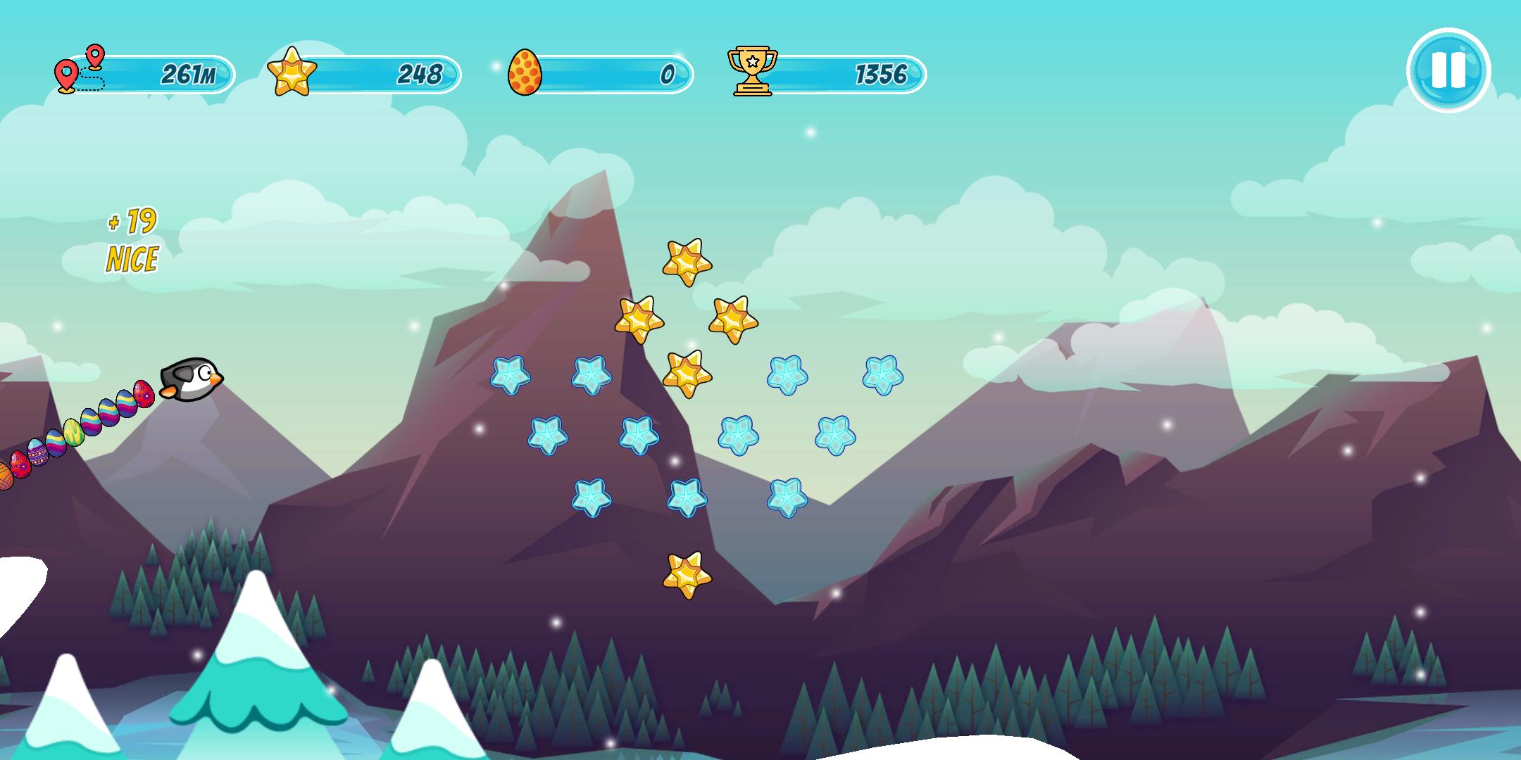 Screenshot 3: Pingo - the sliding penguin