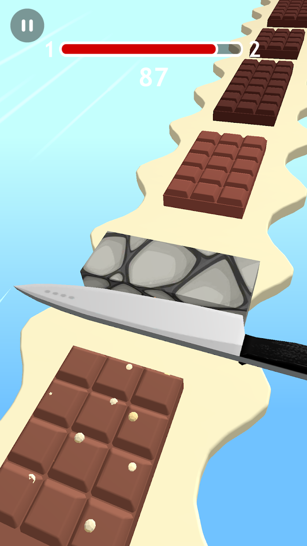Screenshot 4: Chocolate Slicer Slice Candies