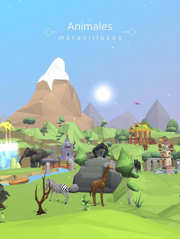 Screenshot 4: Planeta zoológico solitario