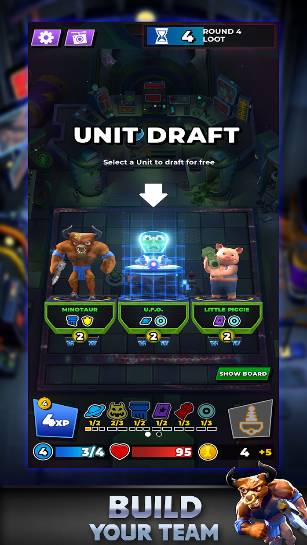 Screenshot 1: Chaos Combat Chess
