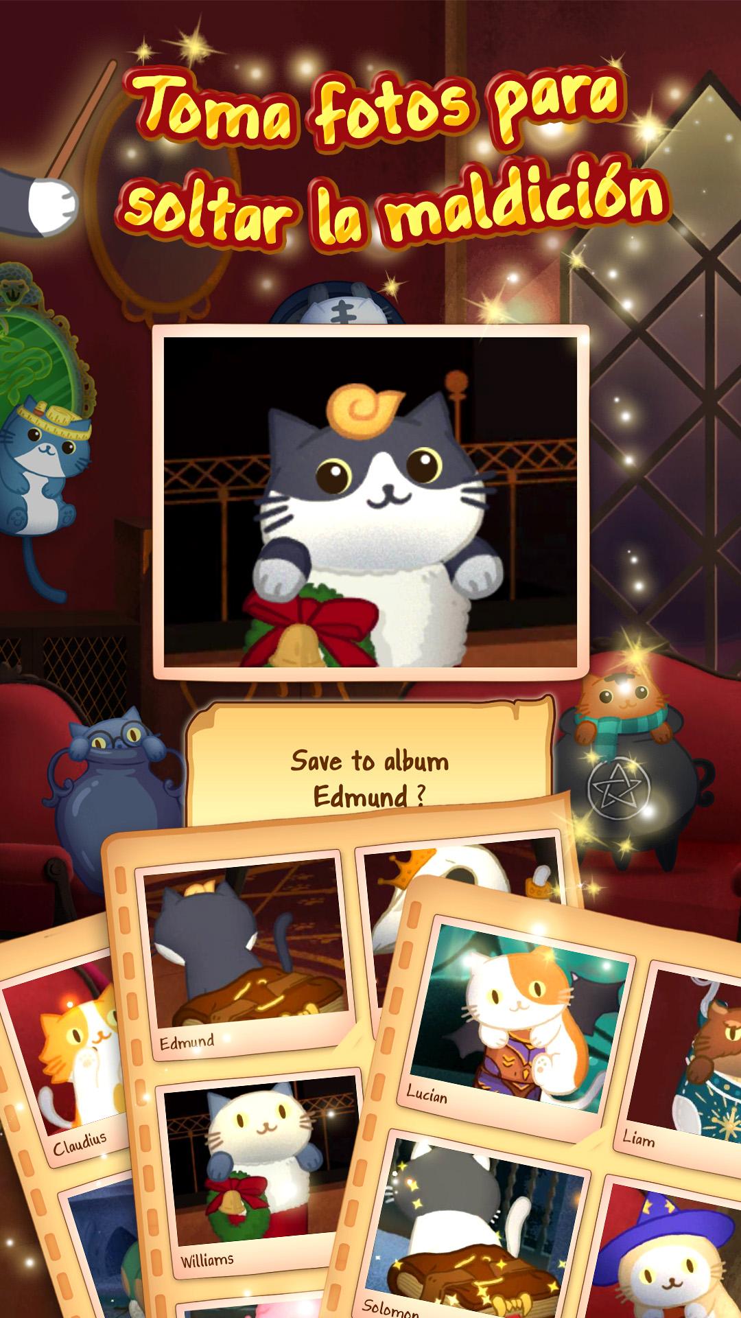 Screenshot 3: Cat Mansion - gato mágico