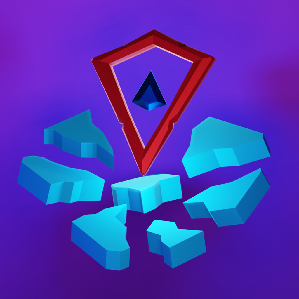 Icon: Diamond Stack 3D:Rise or Fall