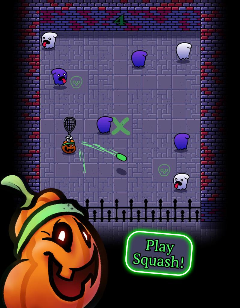 Screenshot 1: Spooky Squashers