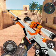 Icon: Real Terrorist Shooting Games: Gun Shoot War