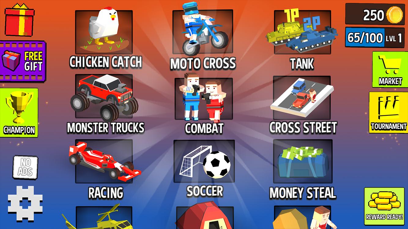 Screenshot 1: Cubic 2 3 4 Player Games