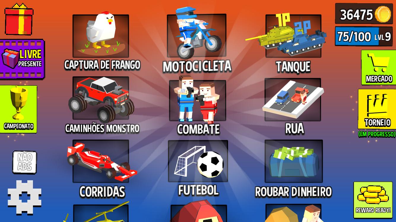 Screenshot 1: Cubic 2 3 4 Jogos de Jogador