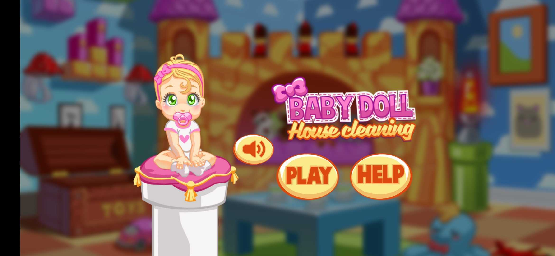 Screenshot 1: Baby Girl Hotel Cleanup