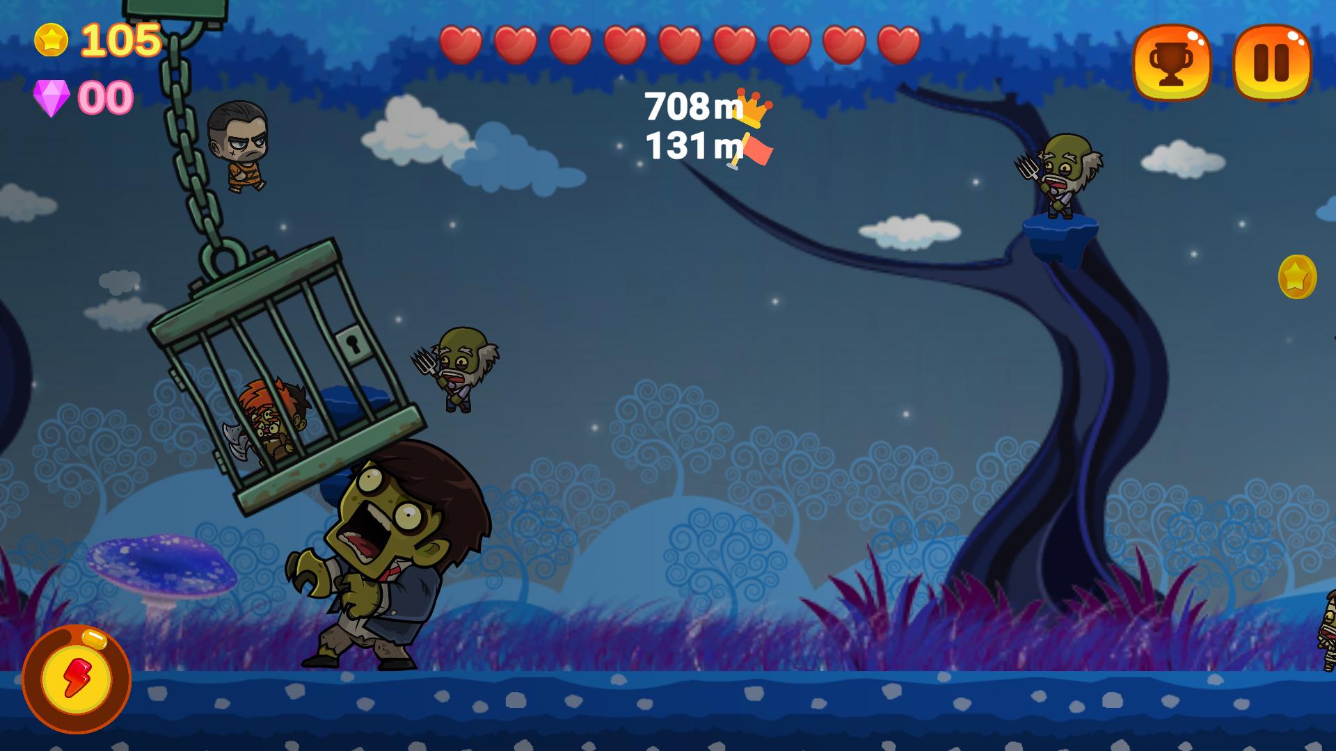 Screenshot 1: Zombies Run