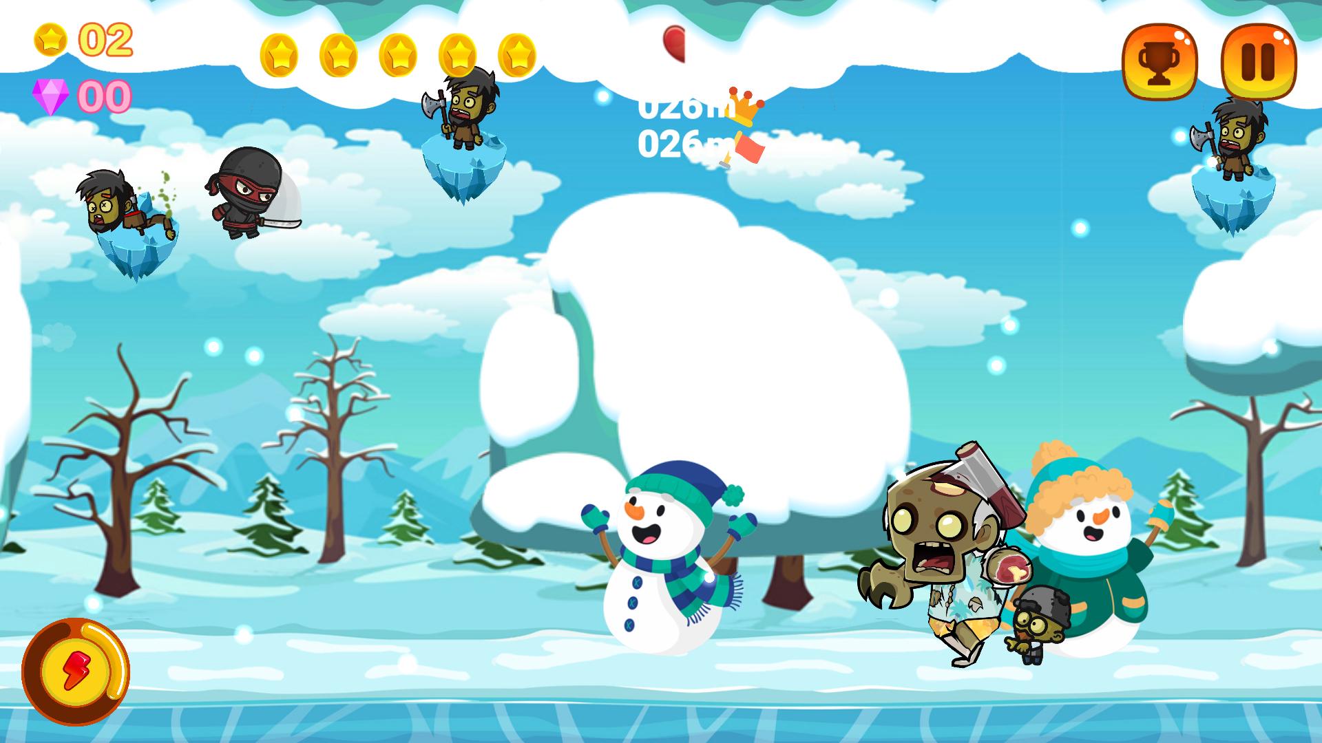Screenshot 3: Zombies Run