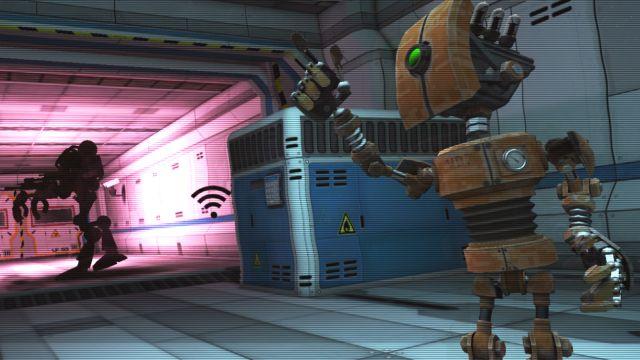 S.P.Y. Robot