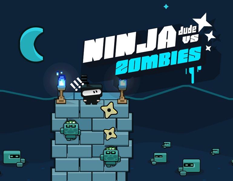 Ninja Dude vs Zombies - endless tap 'n' slash arcade game