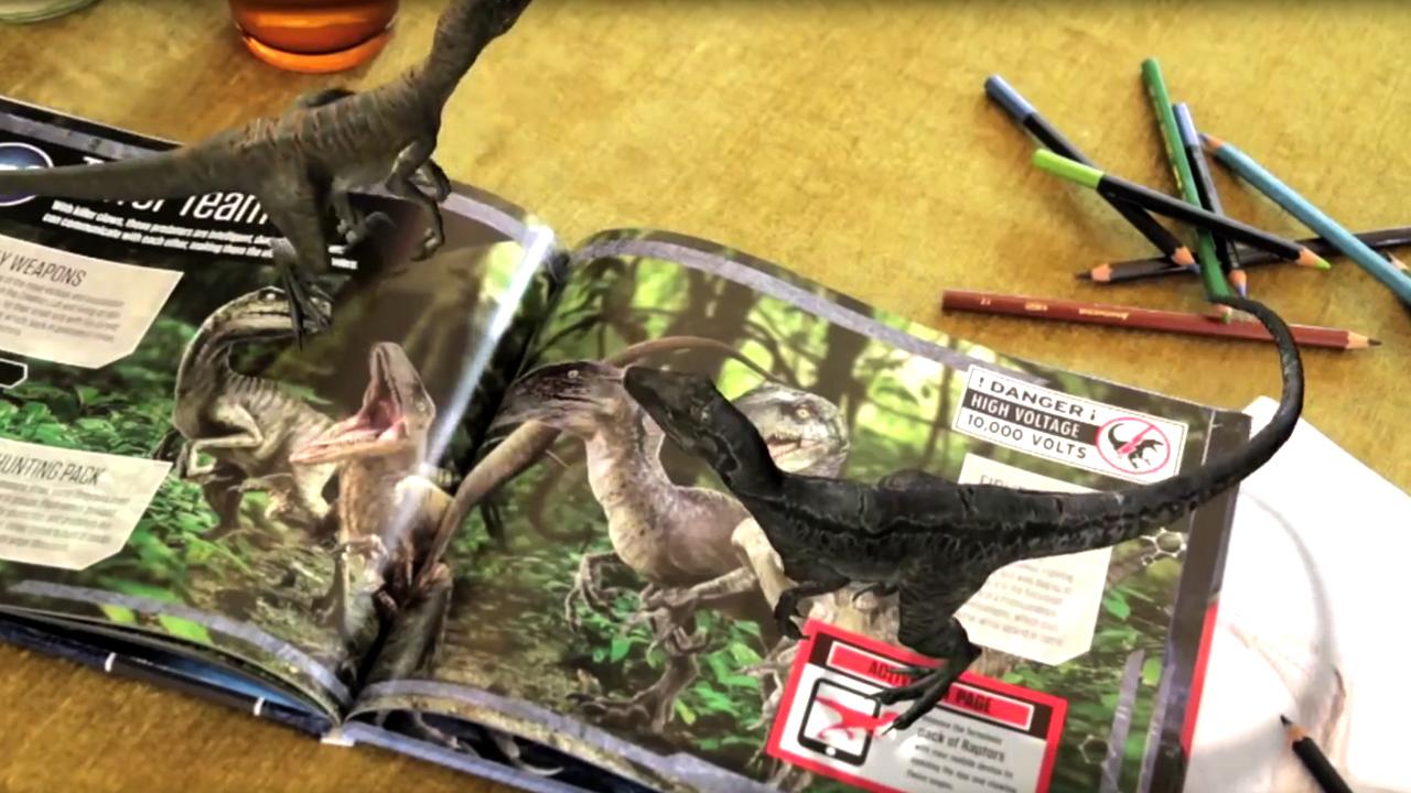 iCarltonAR: Jurassic World