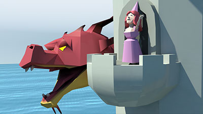 From Squiggles to Castles: Bringing Worlds to Life in Frantic Ball