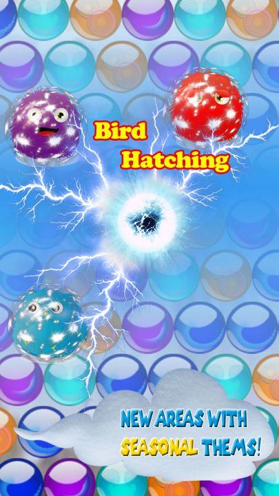 Bubble Bird Hatching