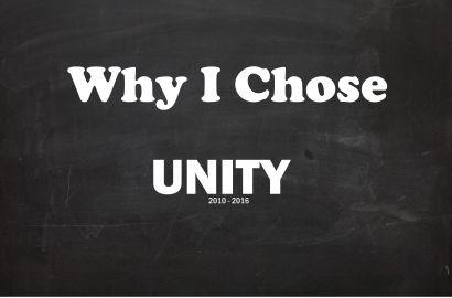 Why I Chose Unity
