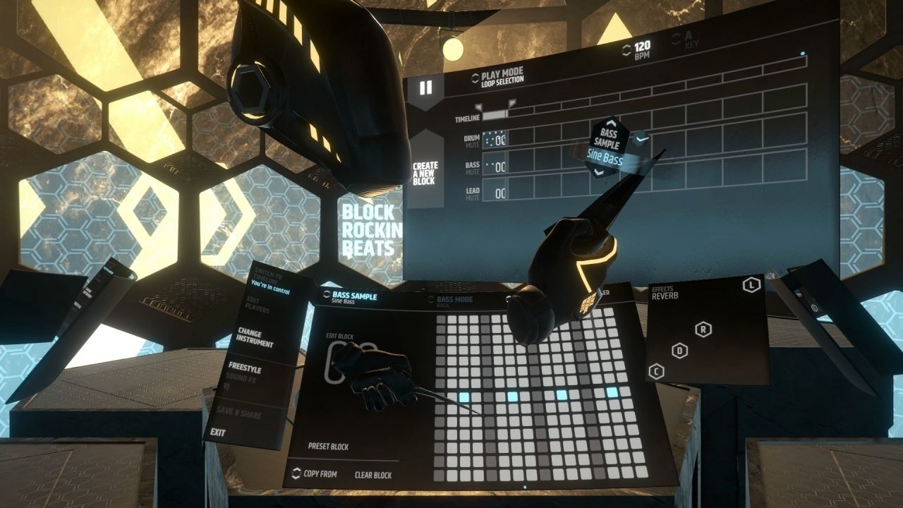 Block Rocking Beats - Create powerful beats together in VR