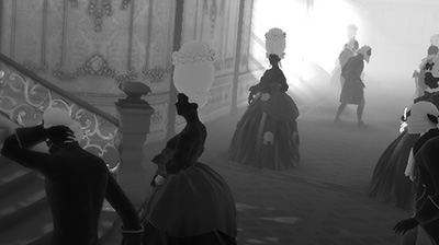 Rococo VR: Dealing with ghosts