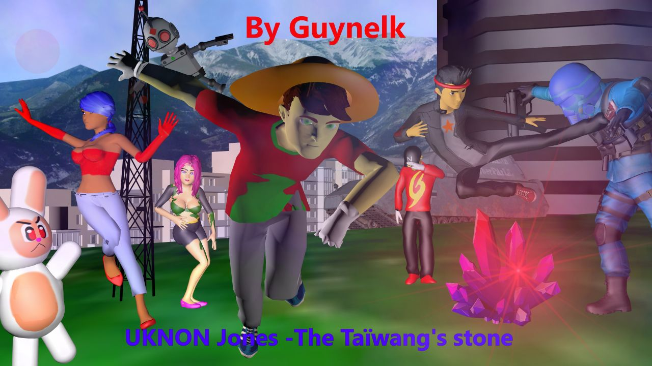 UKNON Jones - The Taïwang's stone