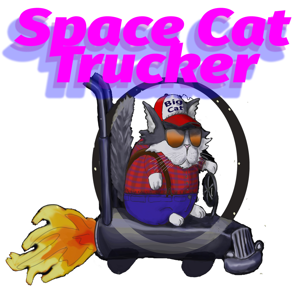 Space Cat Trucker