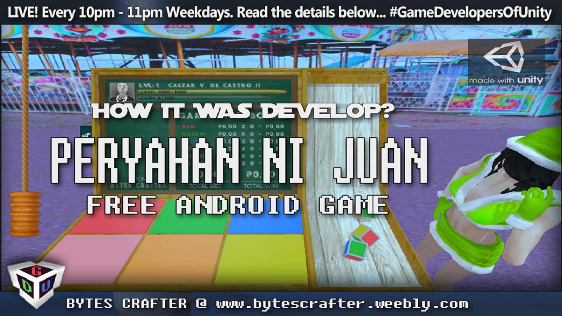 Peryahan Ni Juan - Color Game - Unity Connect