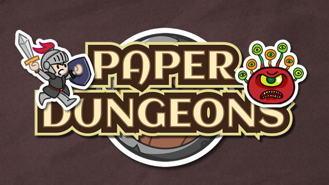 Paper Dungeons - Tactics and Rogue-like