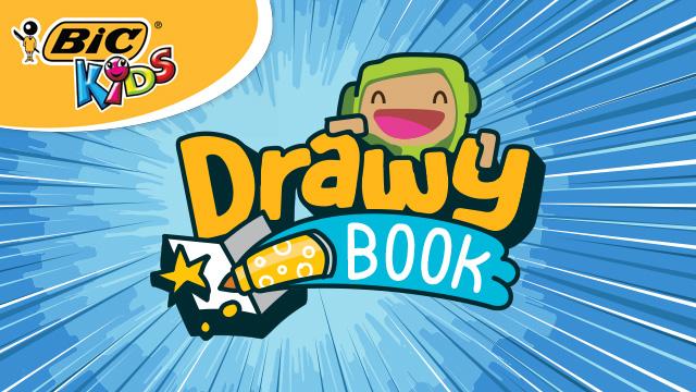 BIC®Kids DrawyBook