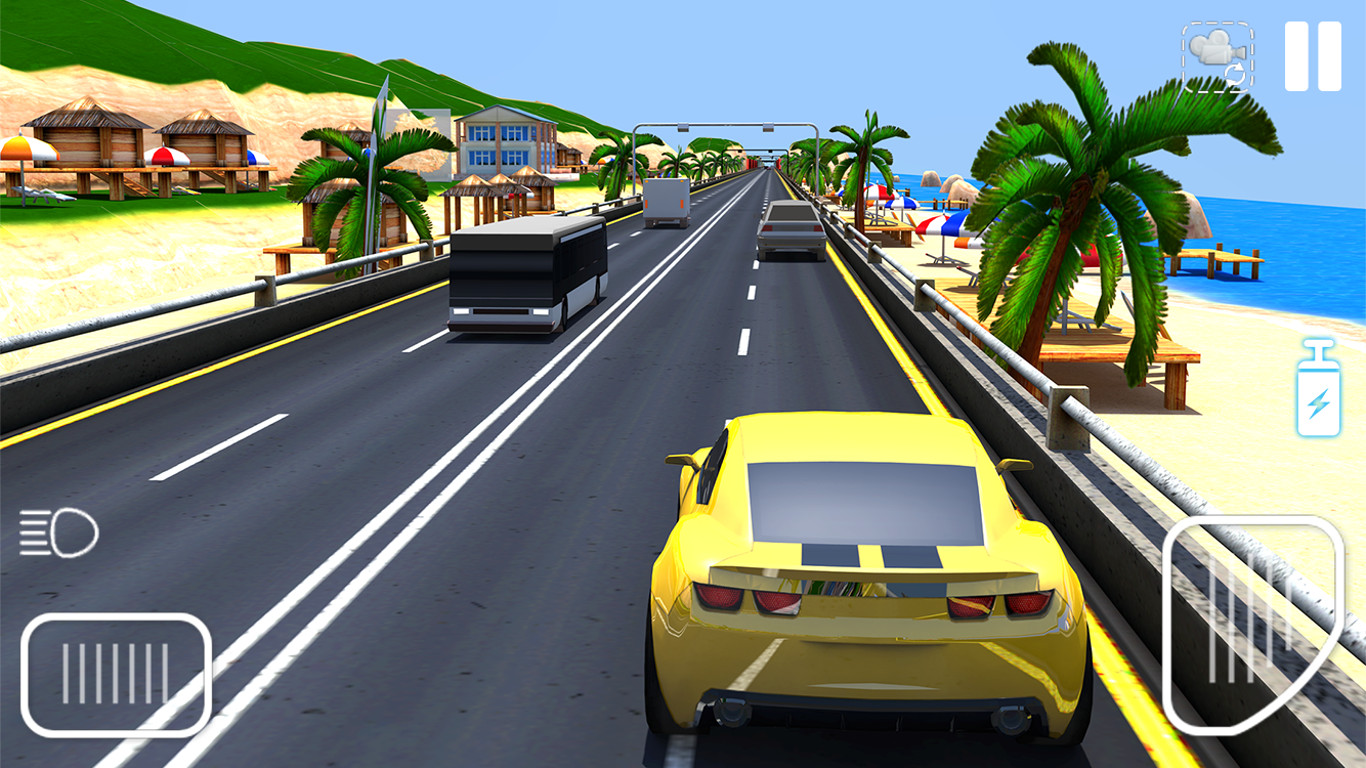 Traffic Racing Game On Beach - Unity Connect