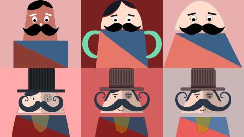 Programmer's Art : Making of Mr. Mustachio's character!