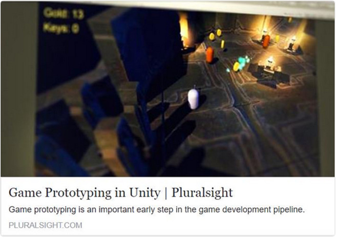 Game Prototyping in Unity