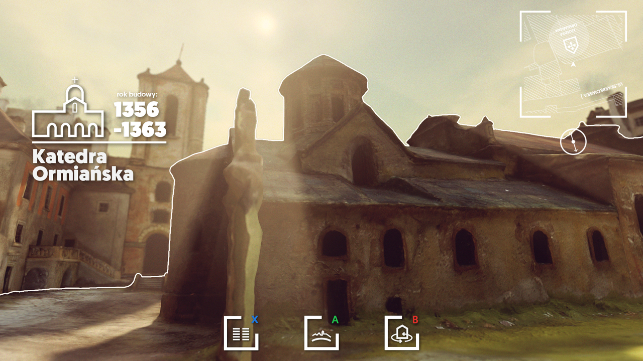 Virtual Panorama of Old Lviv