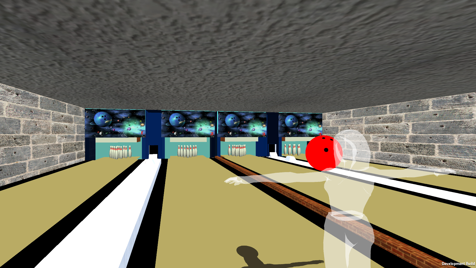 Bowling with Kinect