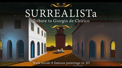 Converting Surrealism and metaphysical paintings into 3D worlds