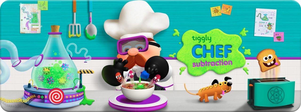 Tiggly Chef Subtraction
