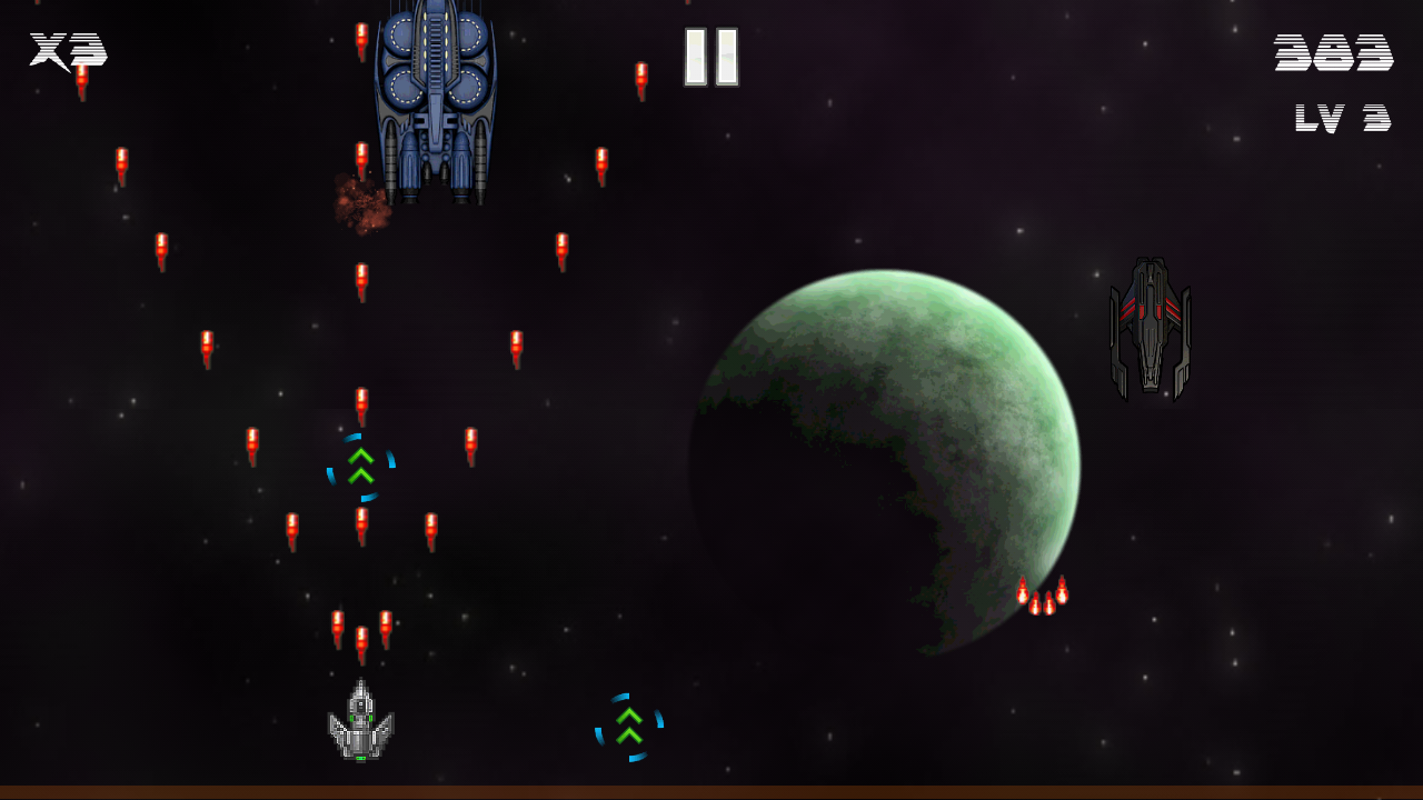 Space Shooter 90 Unity Connect
