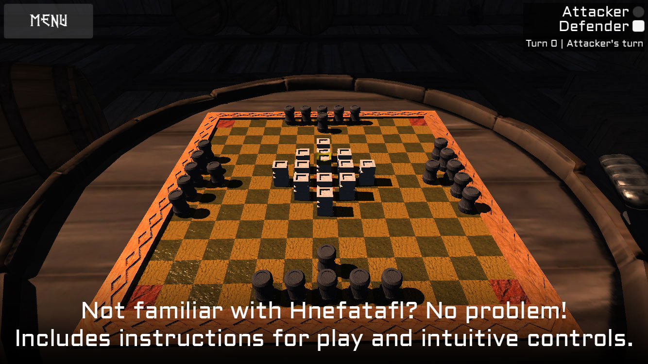 Viking Chess! - Unity Connect